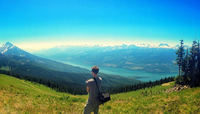 Just a day on top of the world. #filming #britishcolumbia
