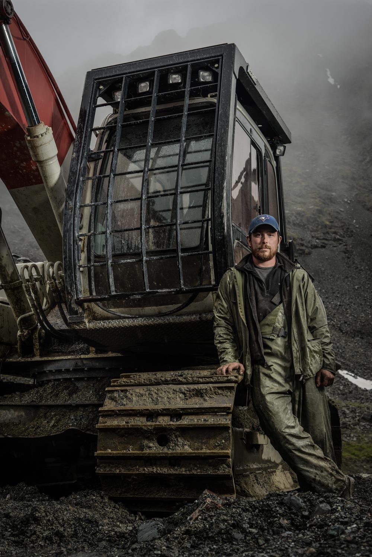 The Excavator Operator,  B.C. Canada