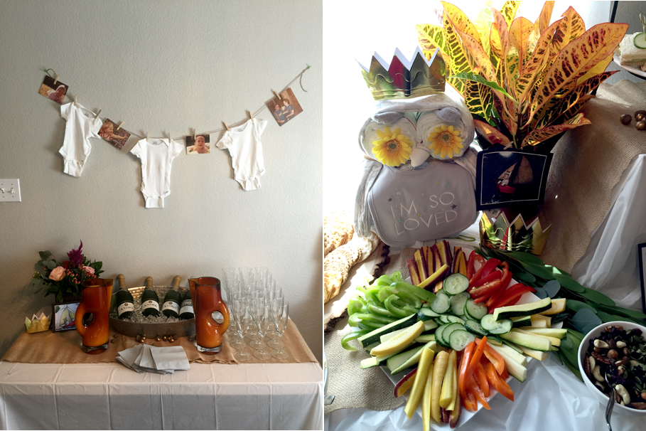 baby shower where the wild things are veggies and vices