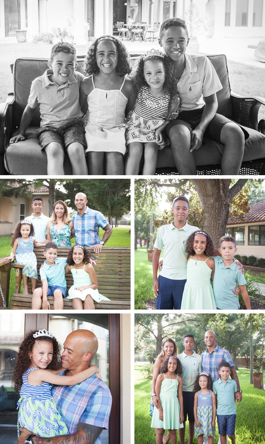 Family Portraits Houston Photography