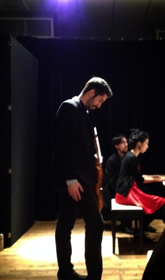 Eric Lemmon - viola recital, 2013
