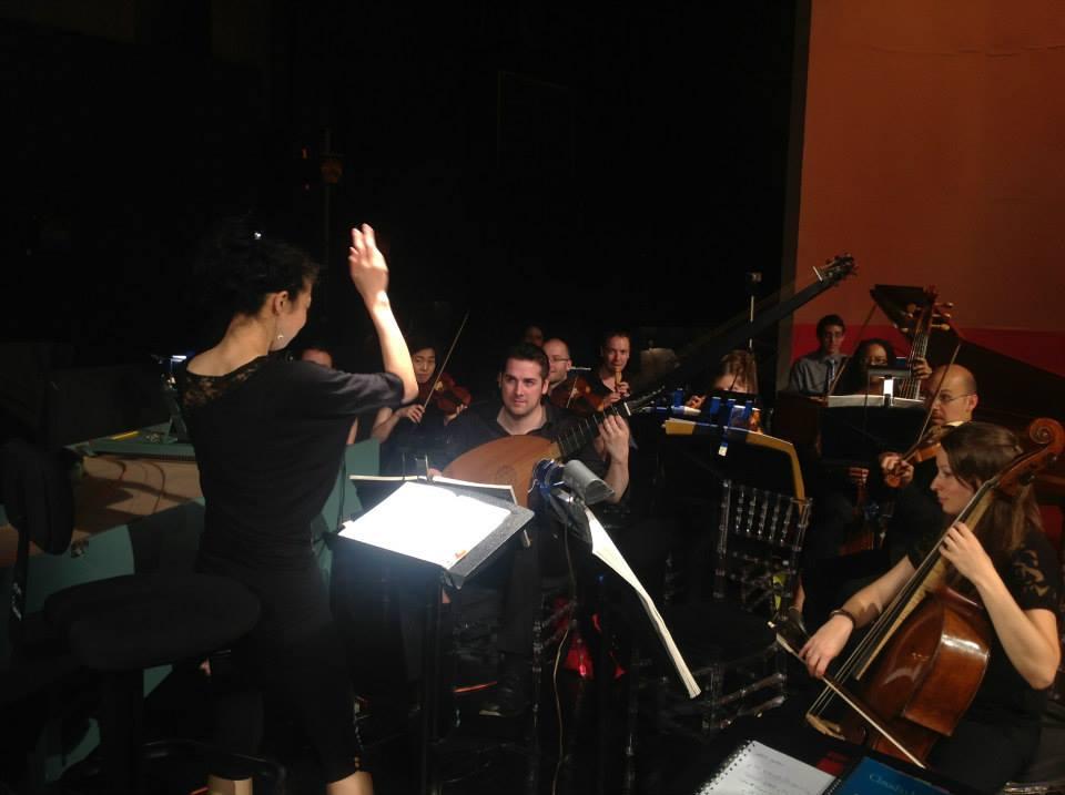 Rehearsal for  L'incoronazione di Poppea  - MSM 2013