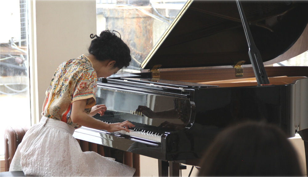 Private recital - Shetler Studios, 2014