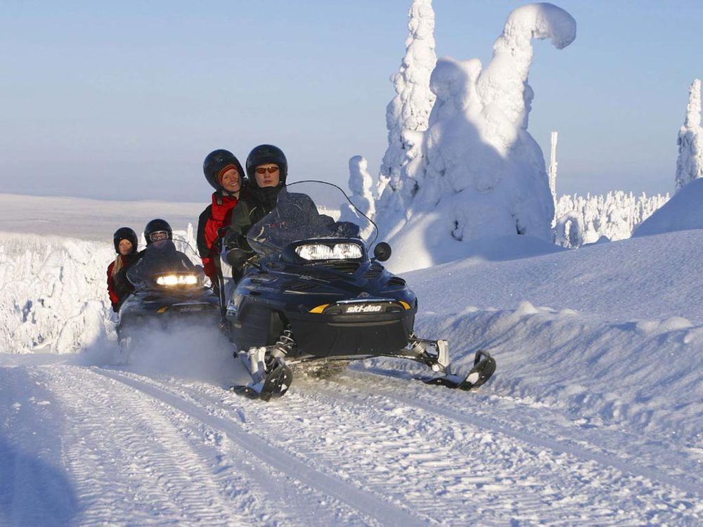 Snowmobile Discovery