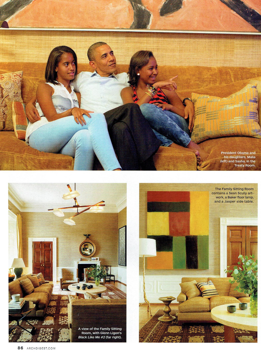 Architechtural Digest December 2016 Carolina Irving Barack Obama 001.jpg