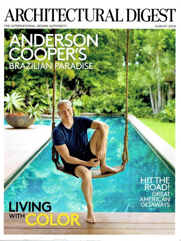 Architectural Digest August 2016