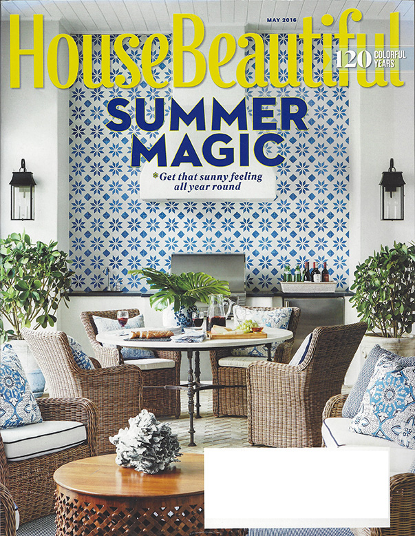 House Beautiful May 2016