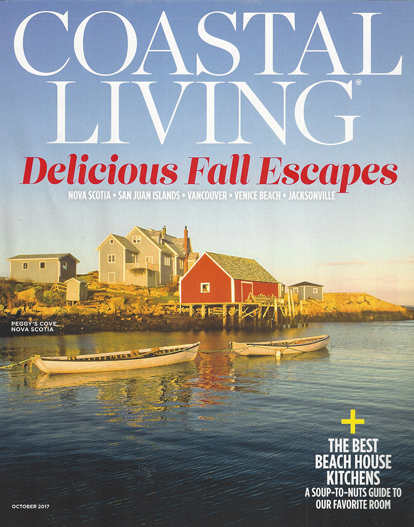 Coastal Living October 2017