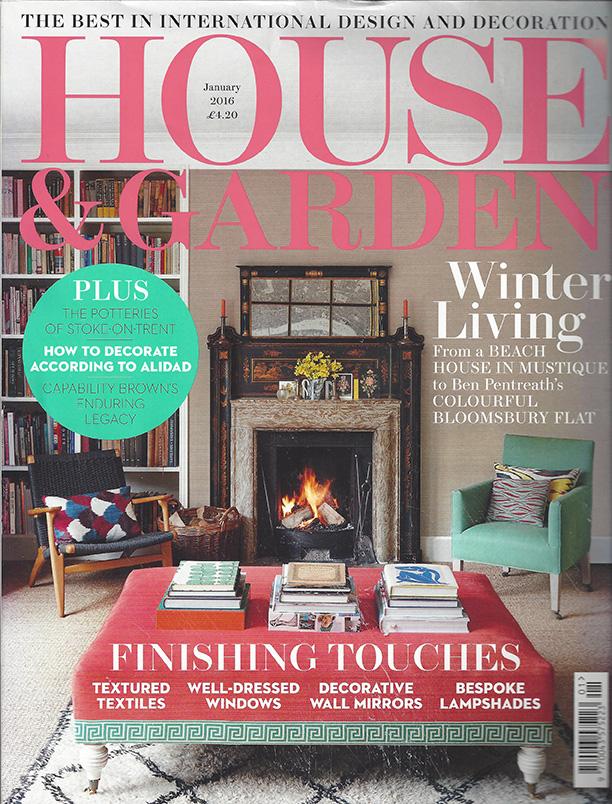 House & Garden January 2016