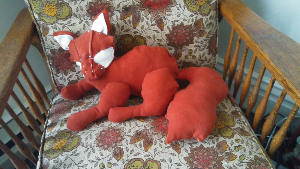 Little Fox in Progress