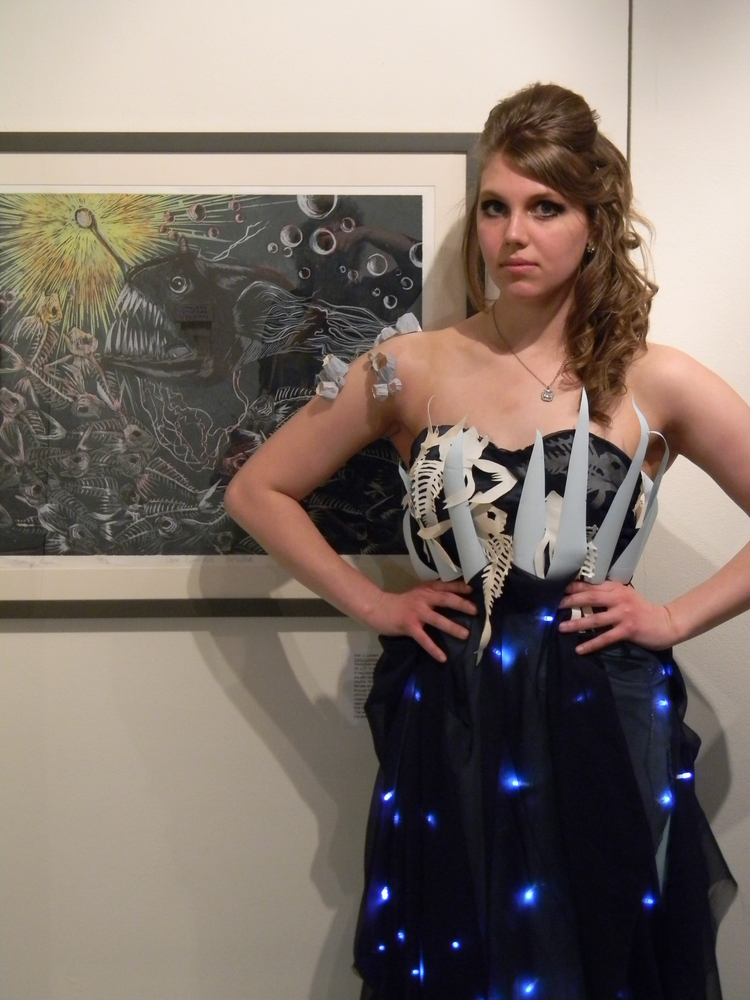 Anglerfish gown