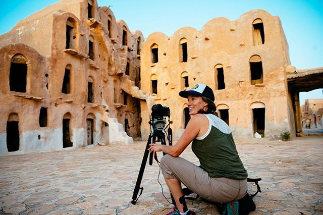 Timelapse in Tunisia for @mercycorps #tbt What I remember most about this moment was the people I was with and the connections I made. 📷 @birdwannawhistle #storytelling #womeninfilm #filmmaking