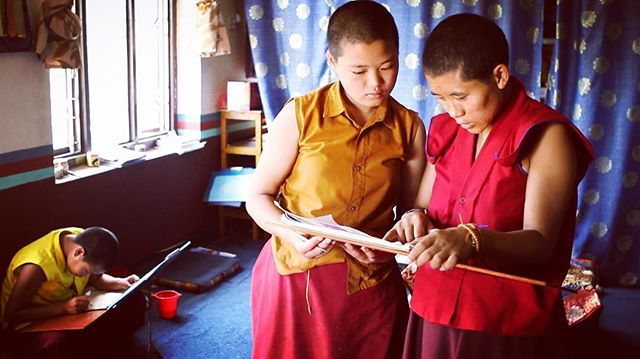 I spent two weeks amongst this group of Tibetan Ani's- every moment inspired by their care for each other and others. Living in Nepal away from their families and homes in order to keep alive a practice and tradition... learning and teaching each day, finding the joy in life and sharing with me their experiences. Thank you. Today for #internationalwomensday I honor them and all other women around the globe who inspire me. #iwd2018 #womenempowerment