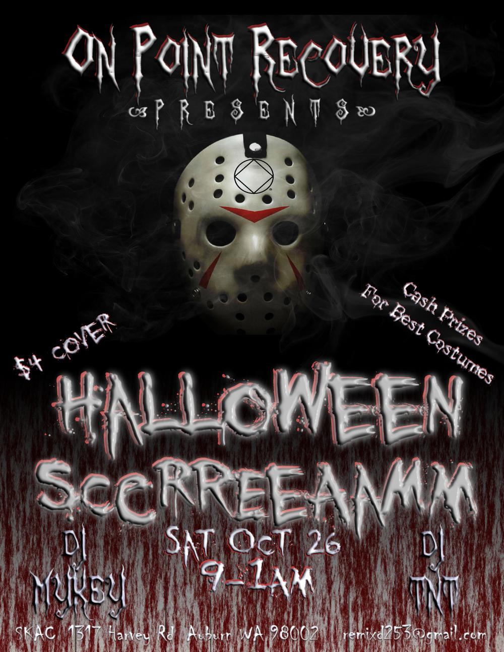 OPR Halloween Flyer 2013