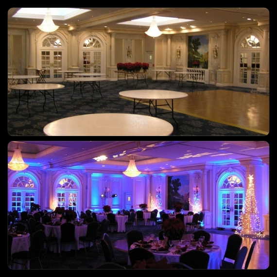 Uplighting - Before & After