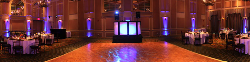 Uplighting & Dj Setup