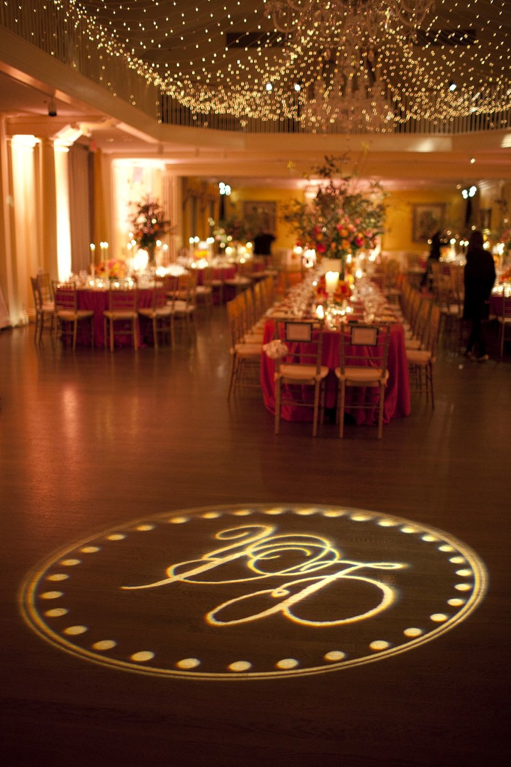 Custom Floor Monogram