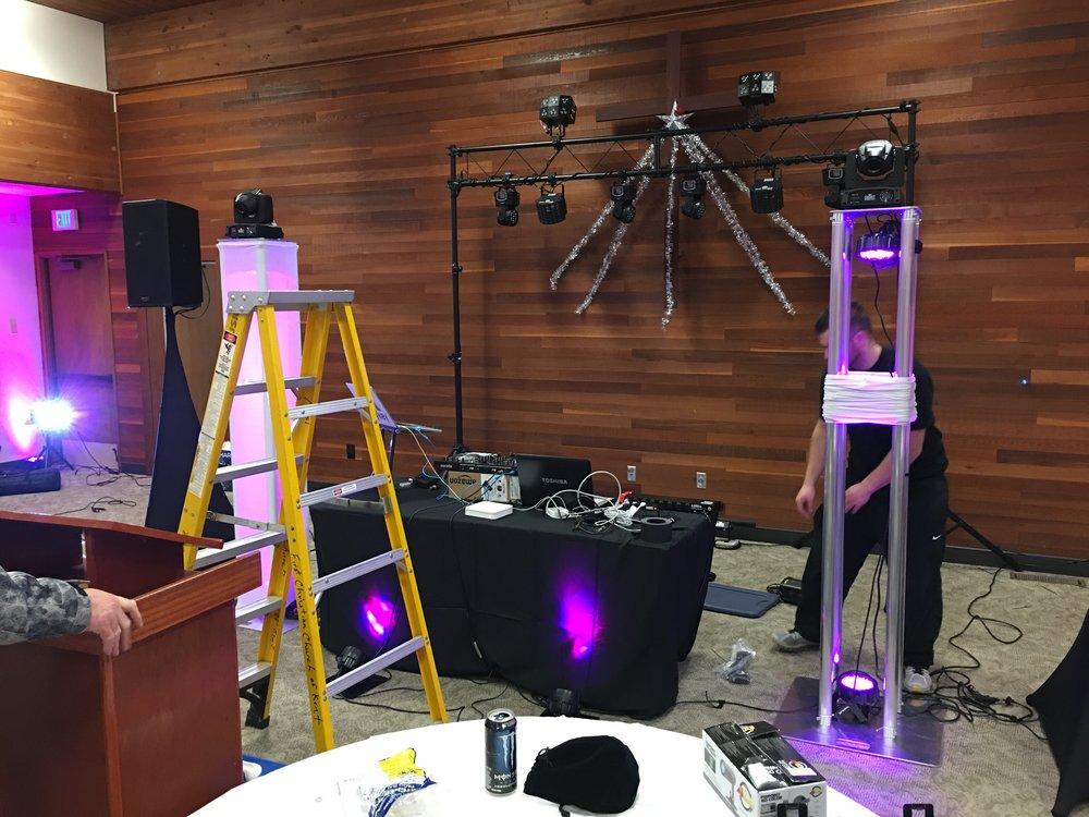 SCKNA's 2016 NYE Setup