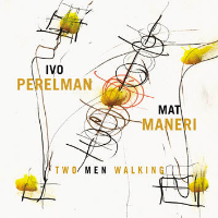Two Men Walking Leo, 2014