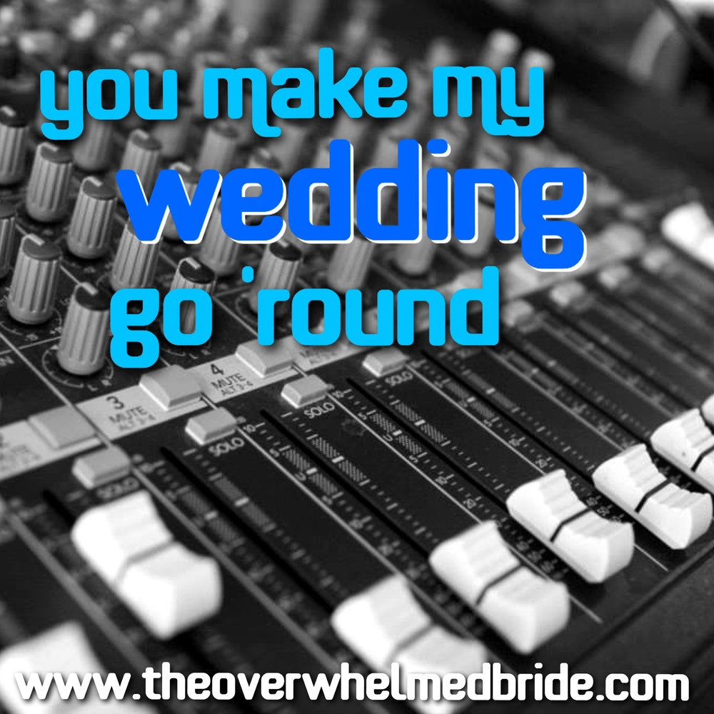Wedding DJ Blog Series - The Overwhemed Bride // Bridal Lifestyle + Wedding Blog