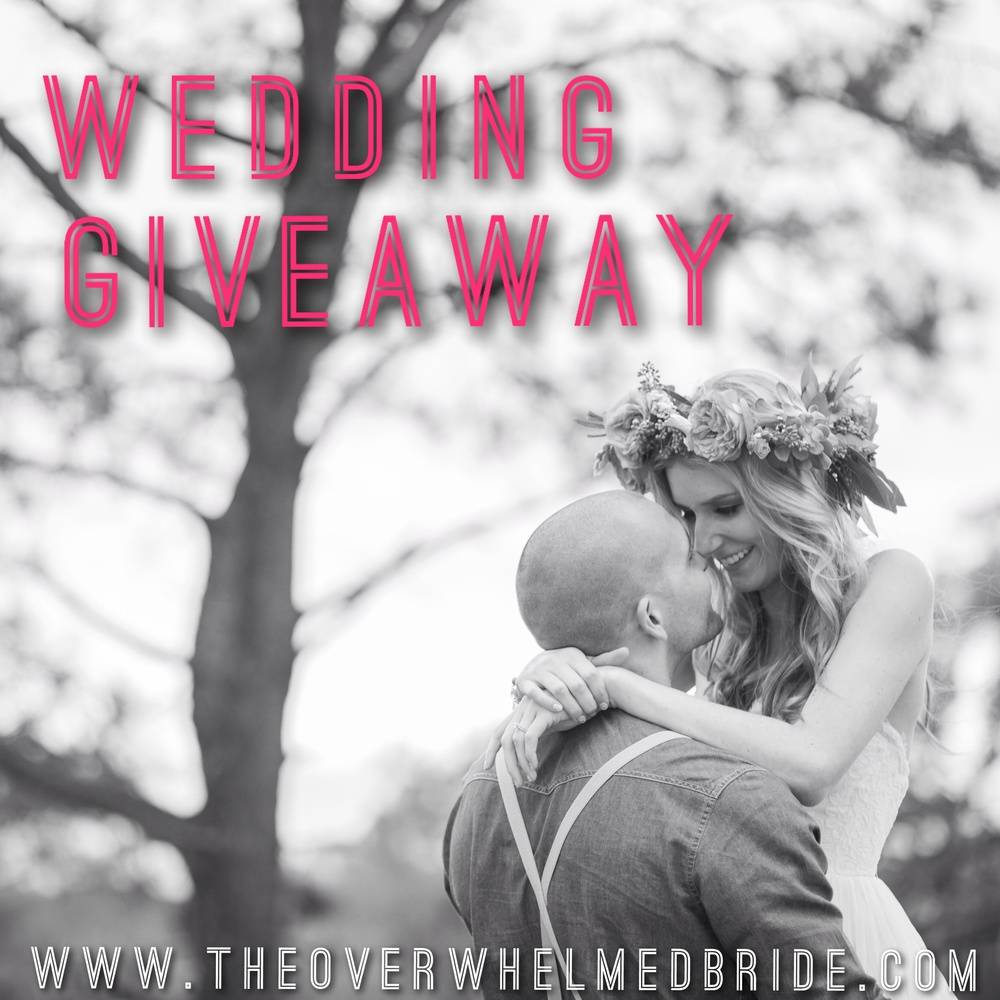 The Overwhelmed Bride is giving away a free wedding! Wedding Giveaway via Circle O'Love