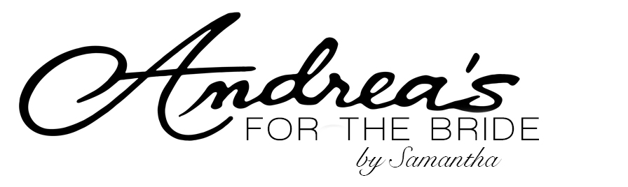 Andrea's for the Bride Logo // The Overwhelmed Bride Wedding Blog +Southern California Wedding Planner
