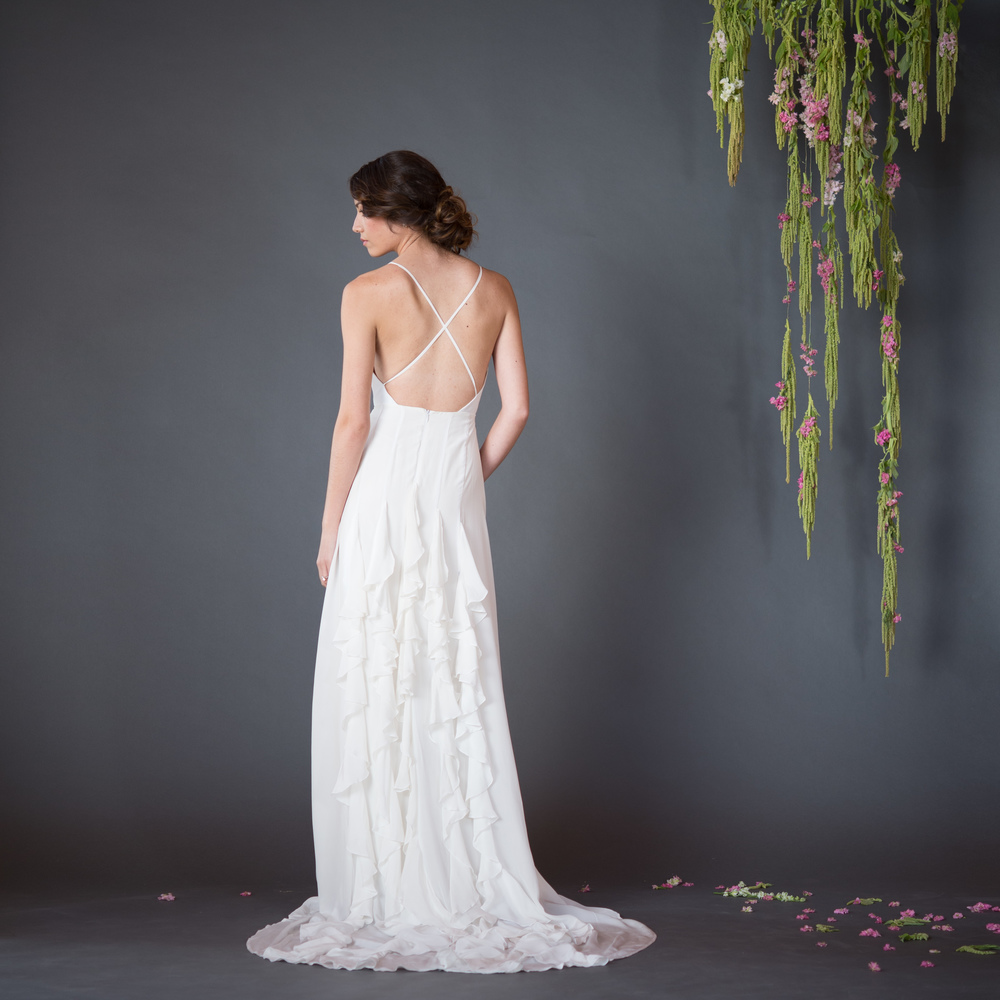 Celia Grace Gown // The Overwhelmed Bride Wedding Blog + Southern California Wedding Planner