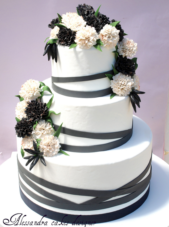 wedding cake in southern california a black white affair wedding inspiration the 22984