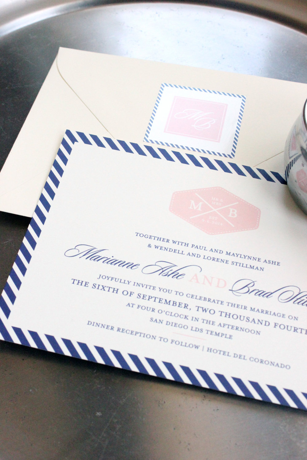 Wedding Invitation Giveaway with Little Words Design // The Overwhelmed Bride Wedding Blog + Southern California Wedding Planner
