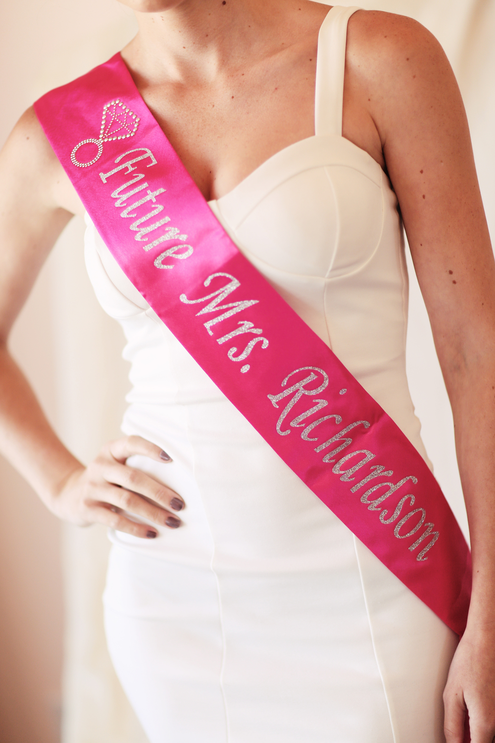 Sassy Sash // The Overwhelmed Bride Wedding Blog + Southern California Wedding Planner