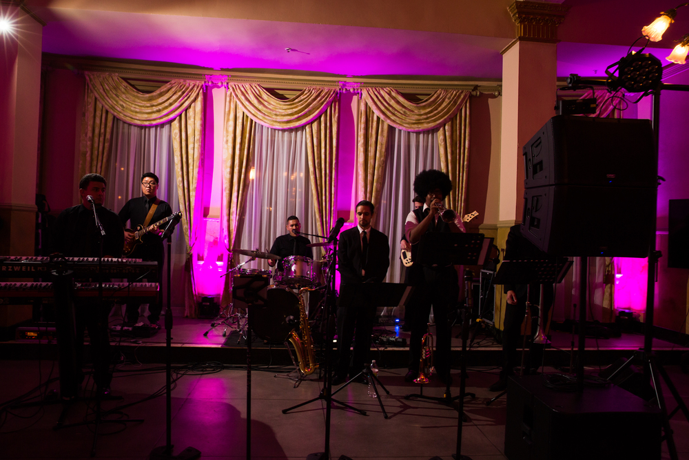 Pasadena Wedding at Castle Green // Wedding Band