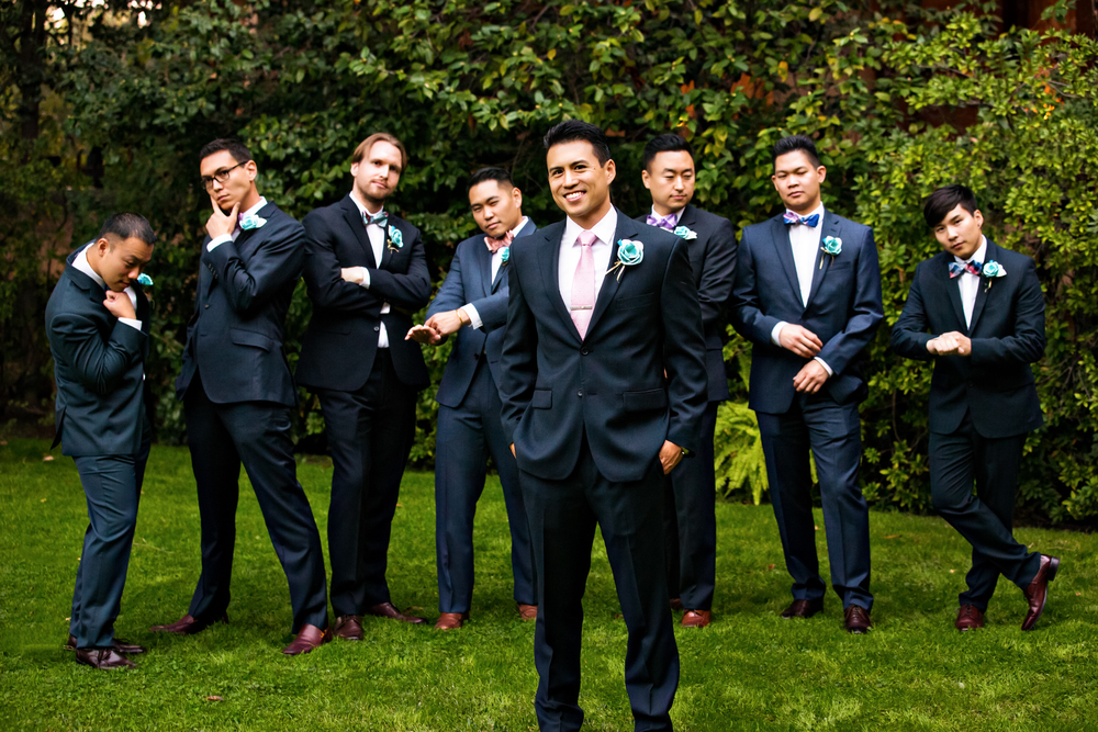 Pasadena Wedding at Castle Green // Groomsmen