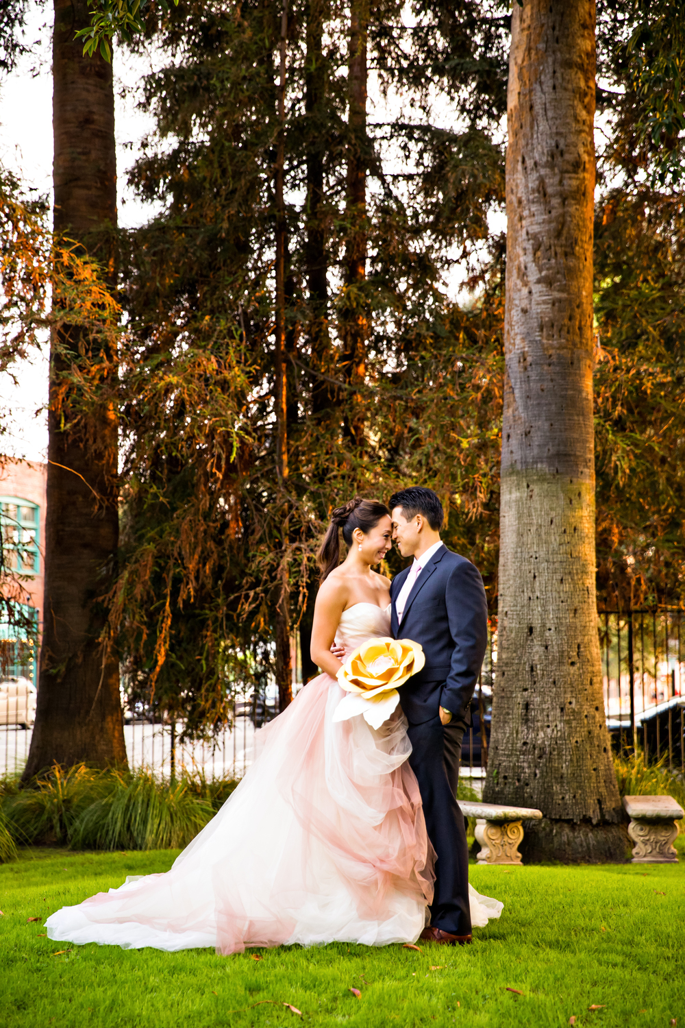 Pasadena Wedding at Castle Green // Bride + Groom