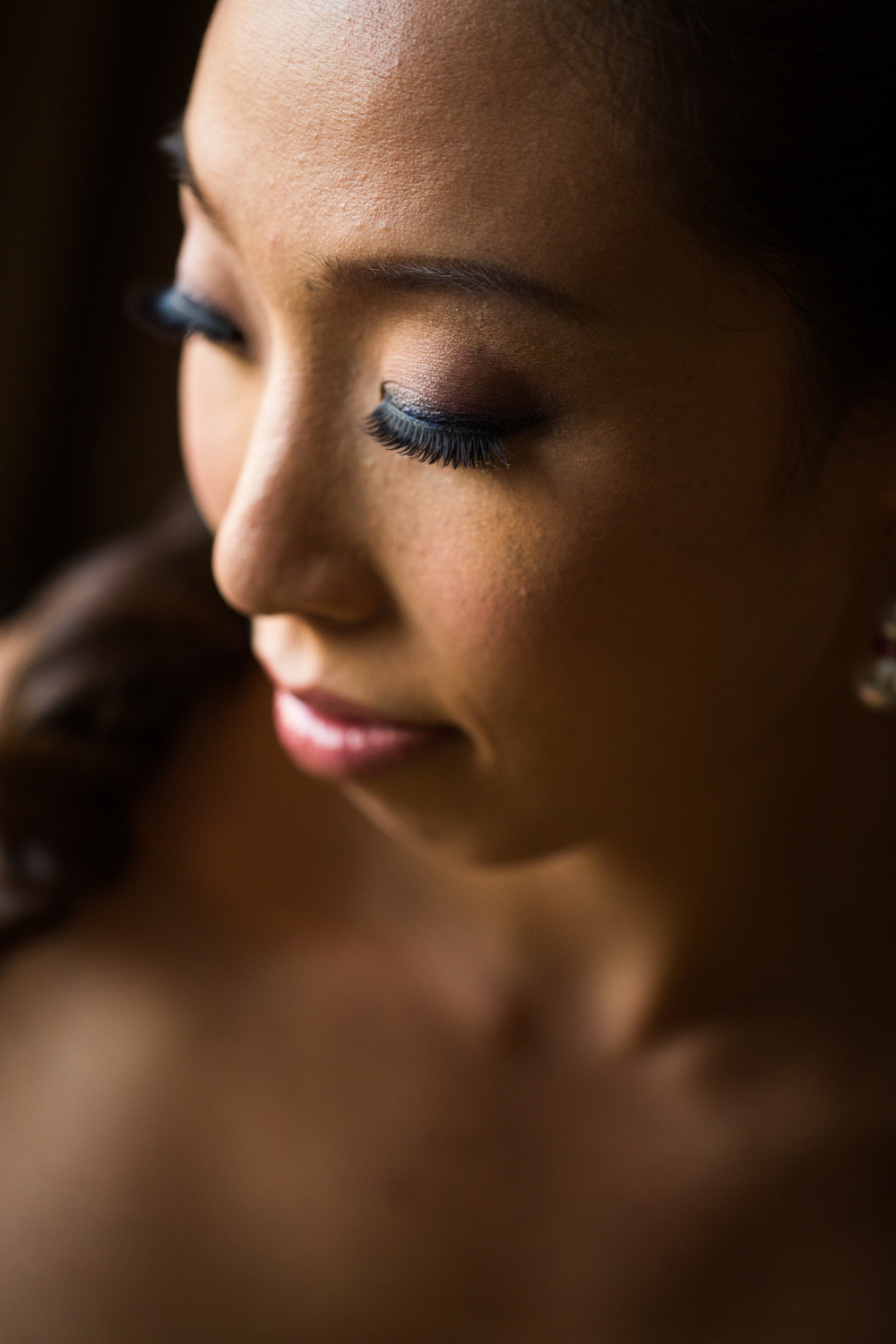 Pasadena Wedding at Castle Green // Bridal Makeup