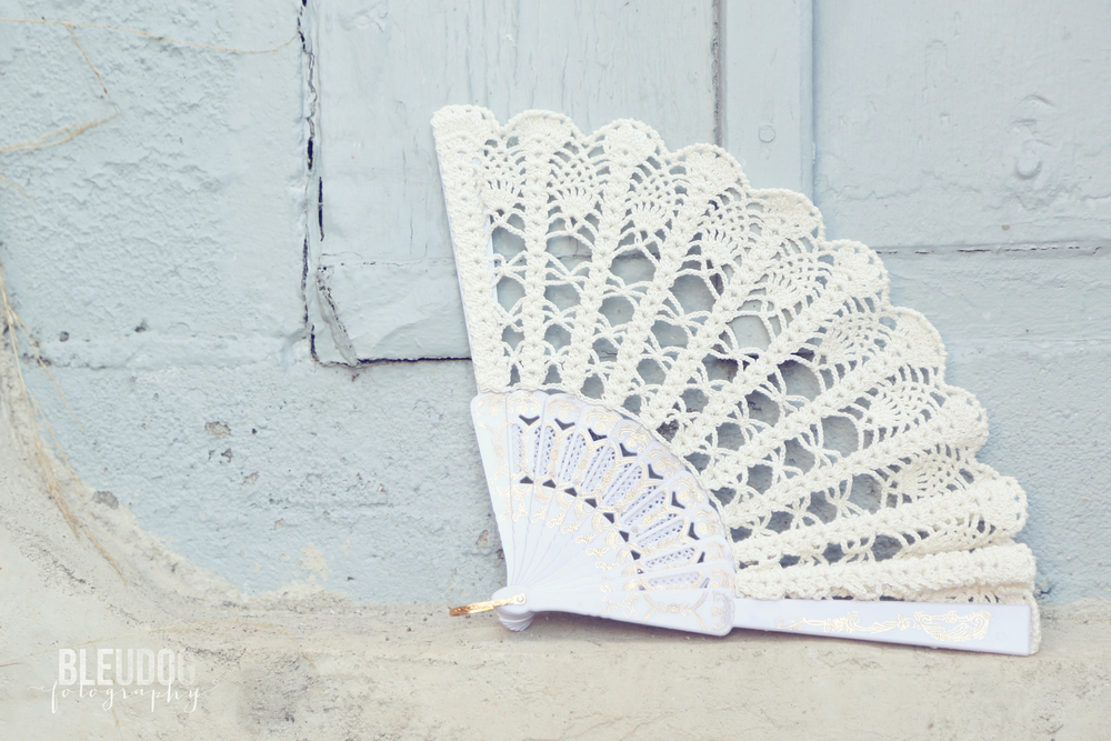 Lace Wedding Fan on Etsy