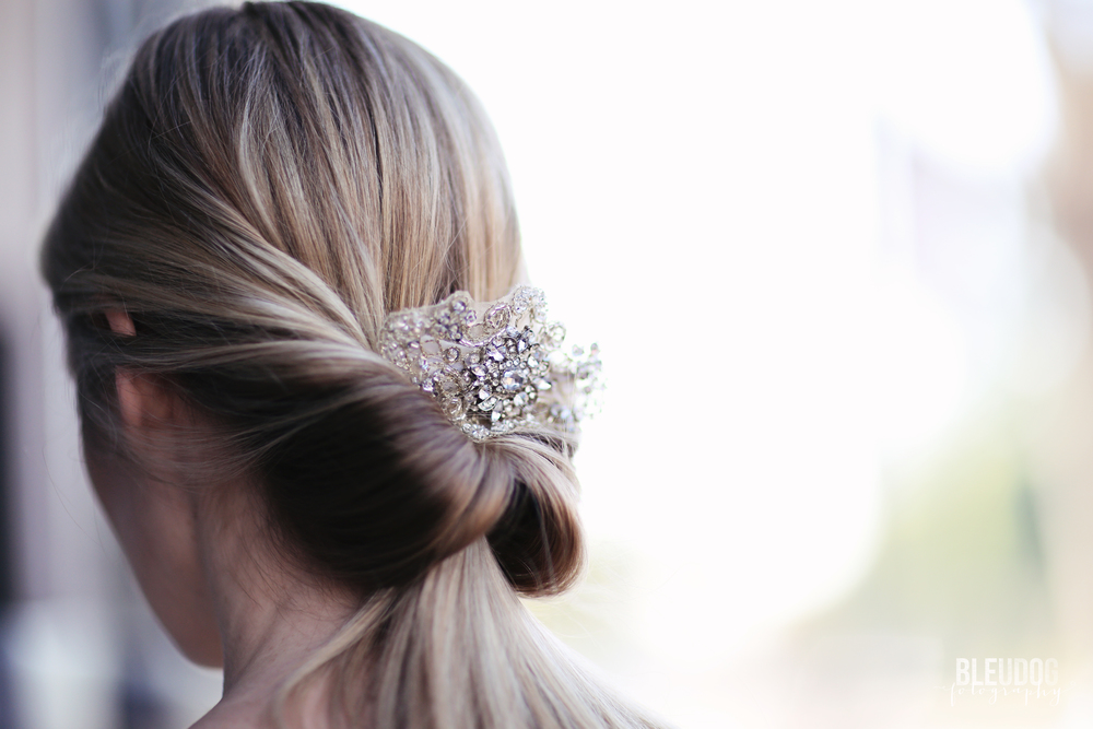 Rhinestone Bridal Hair Comb from Southern Ever After