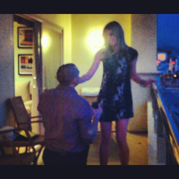 malibu wedding proposal