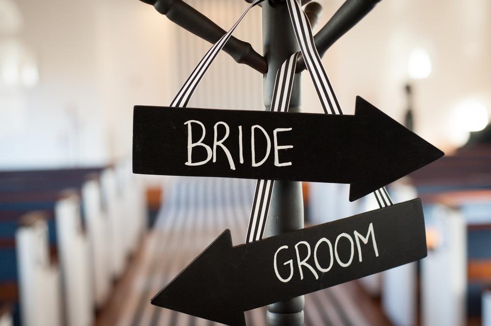 wedding ceremony signs