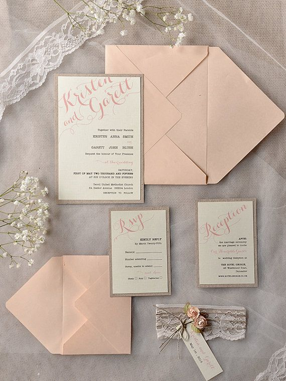 4 Invitation Wedding