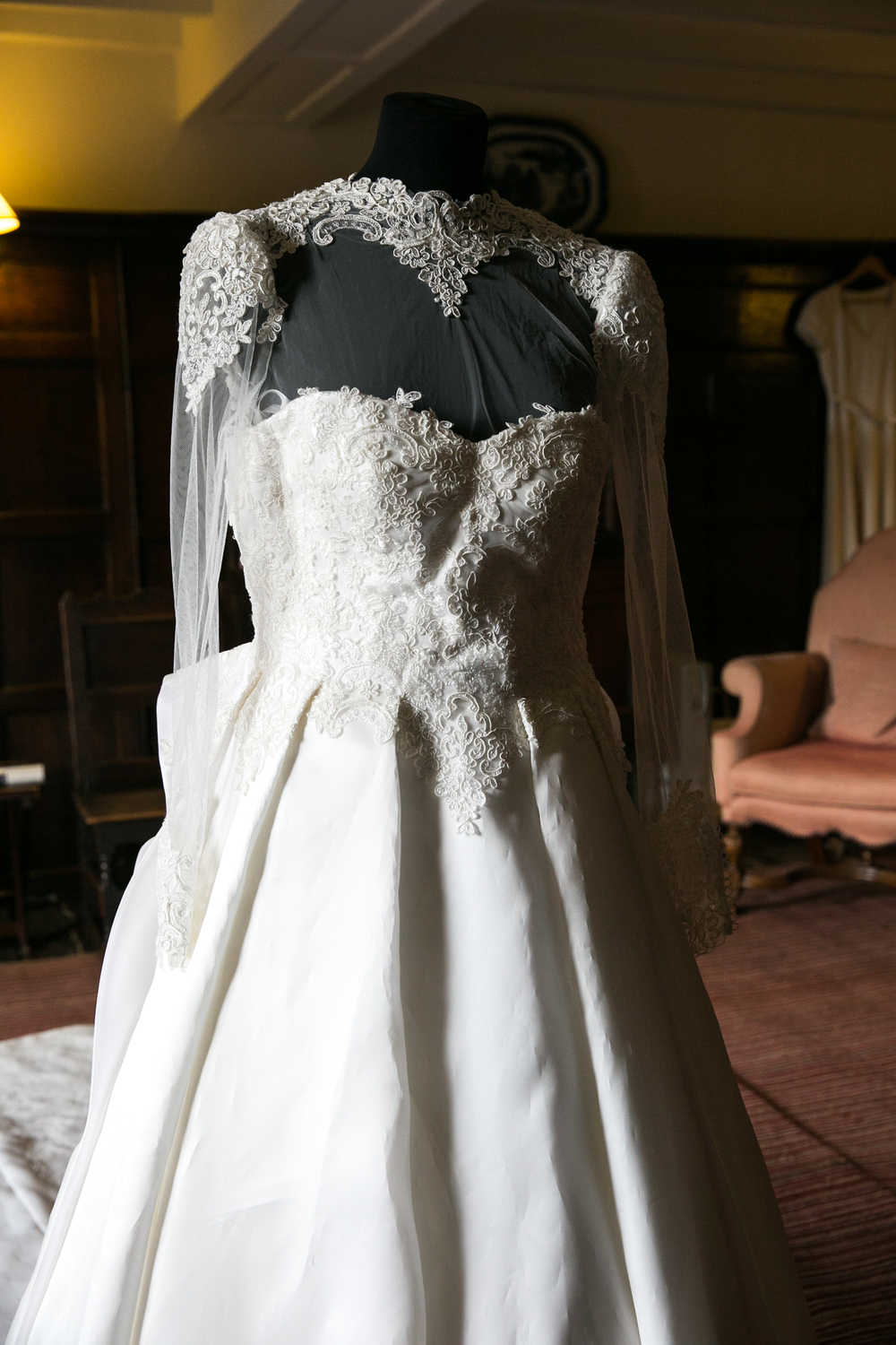 wedding gown england