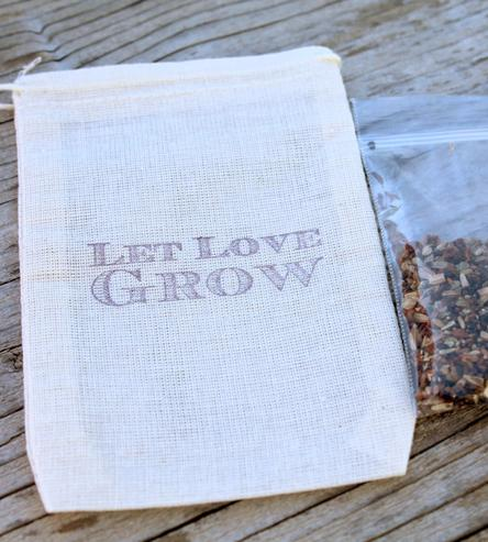 let love grow favor bags