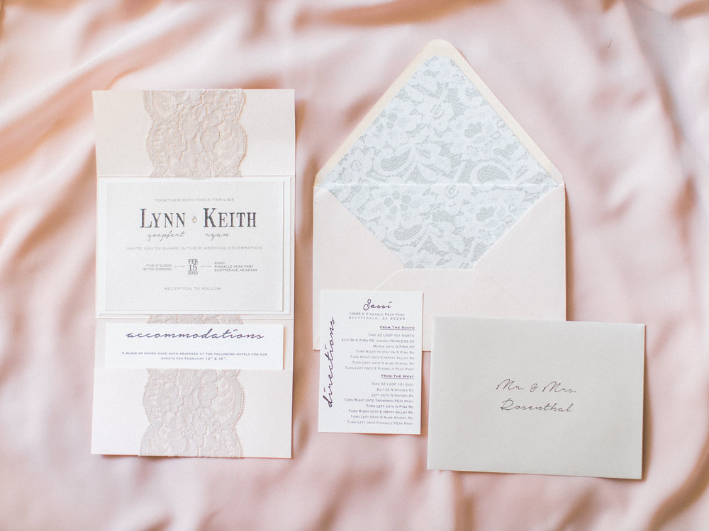 romatic wedding invitations