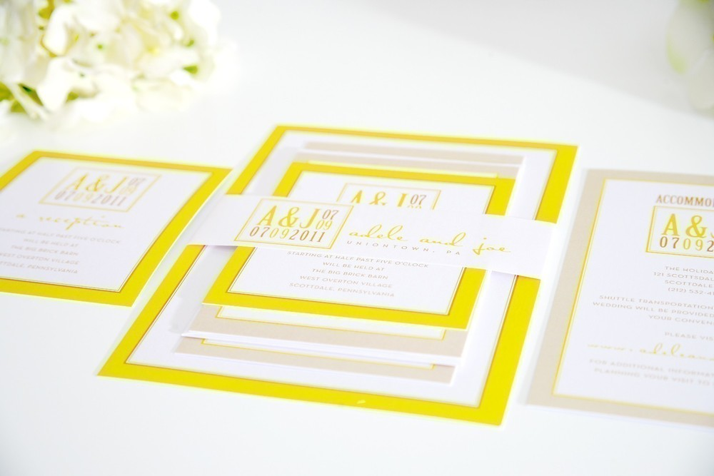 Yellow Wedding Inspiration — The Overwhelmed Bride // Wedding Blog ...