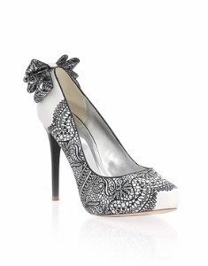 Black And White Wedding Heels – images free download
