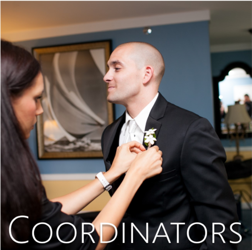 wedding coordinators + wedding planners // the overwhelmed bride wedding blog