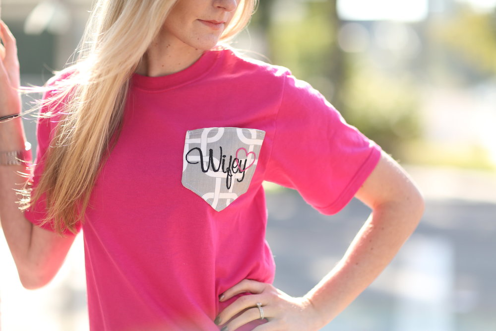 wifey tee on the bridal boutique