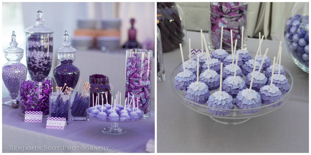 Purple Themed Wedding Inspiration The Overwhelmed Bride