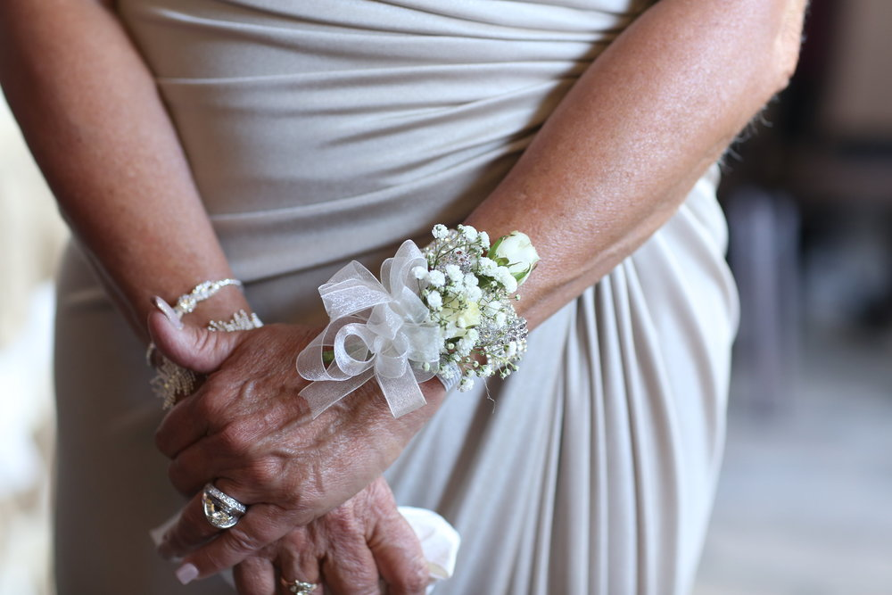 mother of the groom corsage