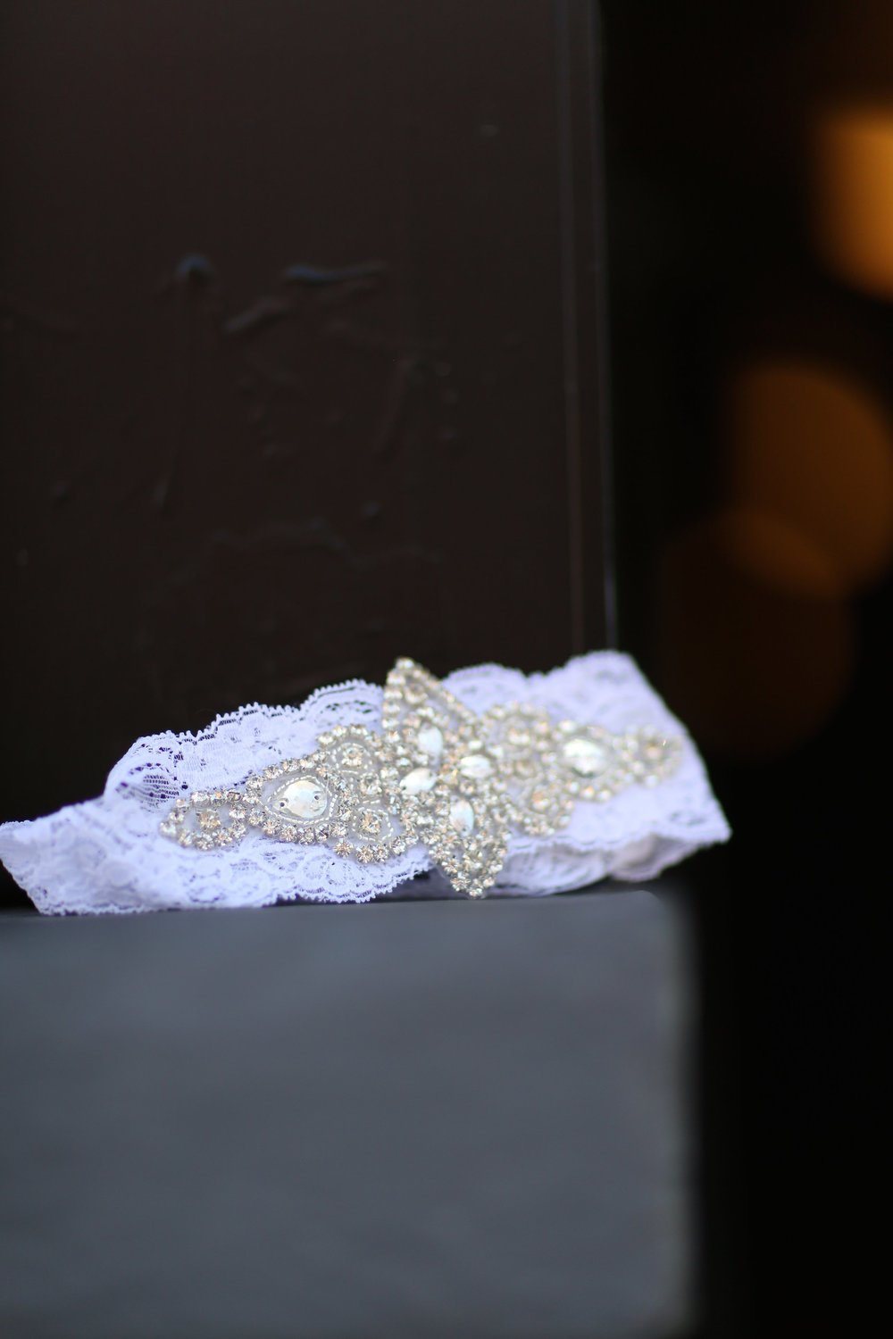 lace garter by southern ever after