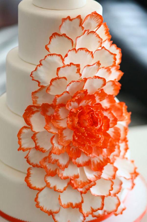 orange wedding inspiration � the overwhelmed bride